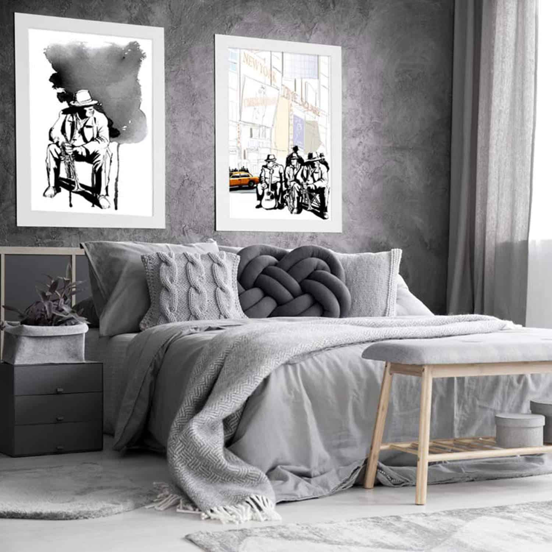 tavlor för sovrum